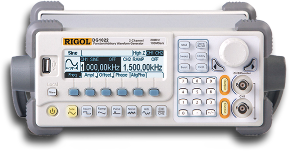 Rigol DG1022A ARBITRARY WAVEFORM FUNCTION GENERATORS