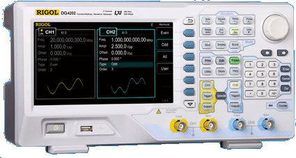 Rigol DG4000 SERIES ARBITRARY WAVEFORM GENERATORS