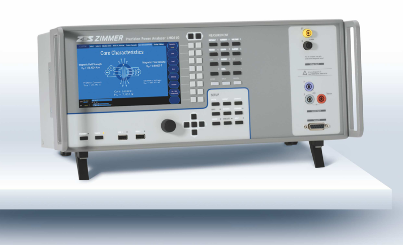 ZES LMG610 Single Channel Precision Power Analyzer as Compact Desktop Device