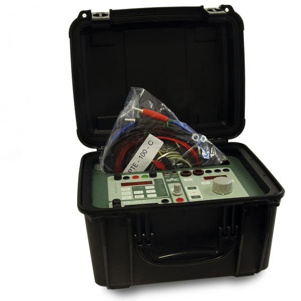 SMC PTE-100-C secondary injection test set