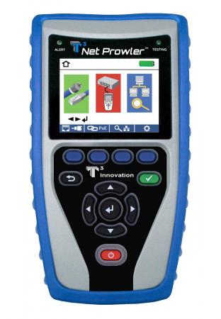 T3 Net Prowler™ Cabling and Advanced Network Tester