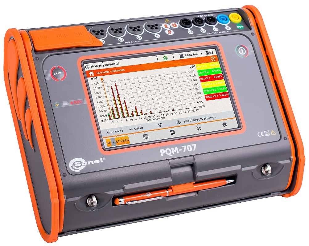 Sonel Power Quality Analyzer PQM-707
